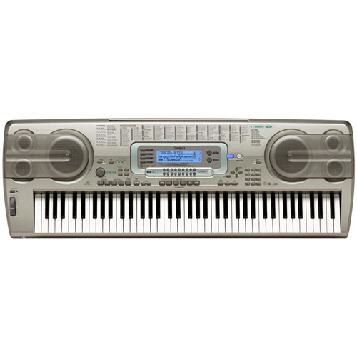 casio 76 key keyboard wk3300 b h photo video. Black Bedroom Furniture Sets. Home Design Ideas