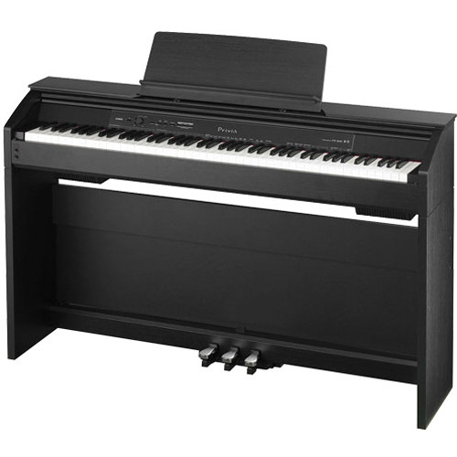 casio px 850 privia 88 key digital piano px 850bk b h photo. Black Bedroom Furniture Sets. Home Design Ideas