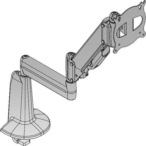 Chief KCE110 Extreme Tilt Height Adjustable Dual Arm KCE110B