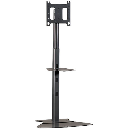 Chief Pf1 Ub Flat Panel Display Floor Stand Black Pf1ub B Amp H