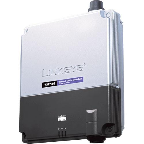 Cisco Wireless G Exterior Access Point With Power Over Wap200e