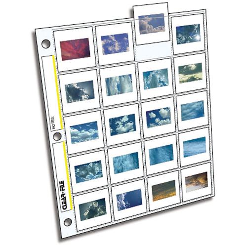 Clear File 5x7 Archival Plus Print Page//100 pk #370100B
