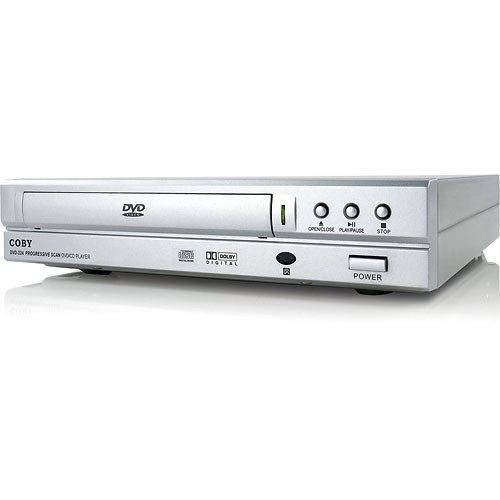 coby dvd 224 compact dvd player silver dvd224 b h photo video rh bhphotovideo com Coby DVD 224 Remote Code Coby DVD938