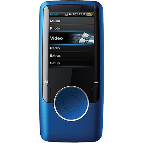 coby mp620 mp3 player blue mp620 4gblu b h photo video. Black Bedroom Furniture Sets. Home Design Ideas