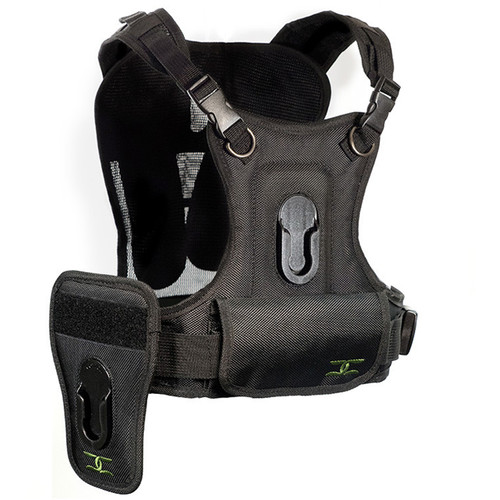 Cotton Carrier Camera Vest With Side Holster Black 124rtl D