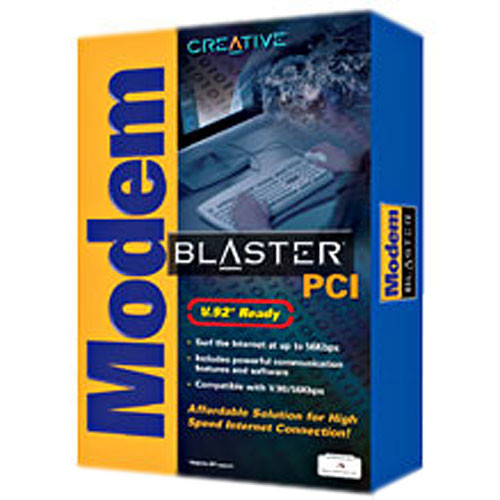CREATIVE Modem Blaster V92.PCI X64 Driver Download