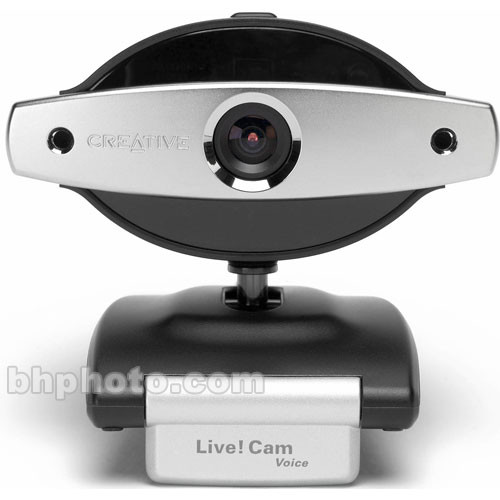 Creative labs live cam voice usb web camera 70vf017000000 b h for Live camera website