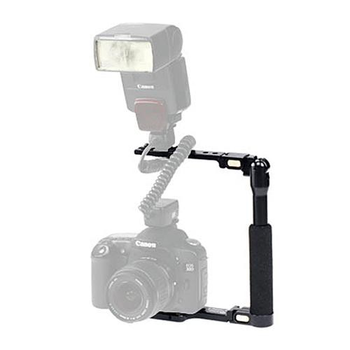 Photography Flash Brackets: Custom Brackets Folding-S Flash Bracket CB-FOLDING-S B&H Photo