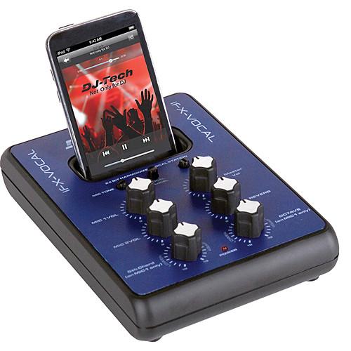 dj tech ifx vocal ipod effects and consumer mixer ifx vocal b h. Black Bedroom Furniture Sets. Home Design Ideas