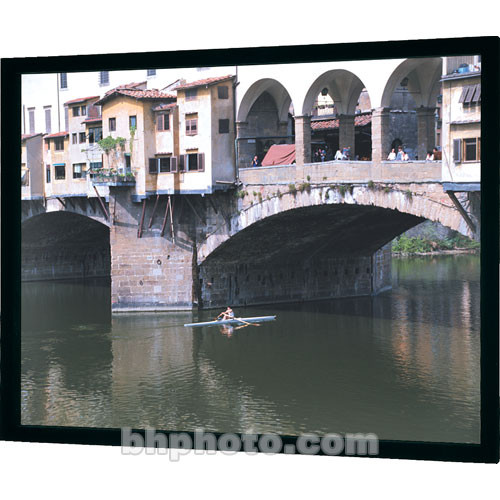 Da Lite 95588 Imager Fixed Frame Front Projection Screen 49 X 87