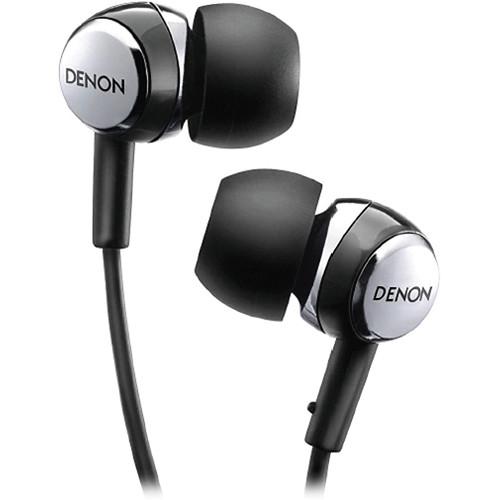 Denon AH-C260R In-Ear Stereo Headphones with Mic and AH-C260RK