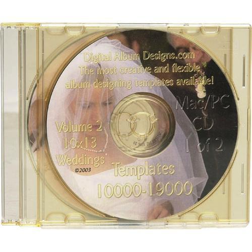 Digital Album Designs Volume 2 10x13 Dadvol2 Bh Photo Video