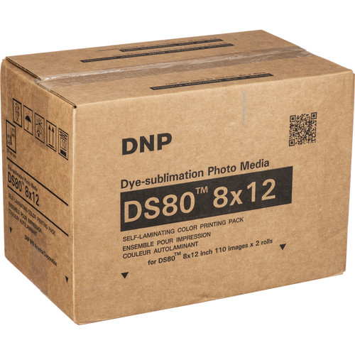 Dnp 8 X 12 Print Pack For Ds80 Printer 2 Pack Ds80 8x12