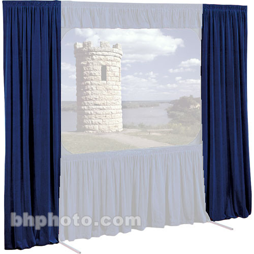 Draper Set Of Drapes For Cinefold 79x140 Projection Screen