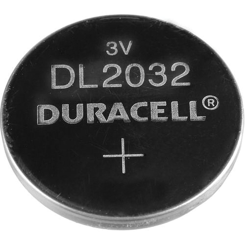duracell cr2032 3v lithium button battery dl2032b b h photo. Black Bedroom Furniture Sets. Home Design Ideas