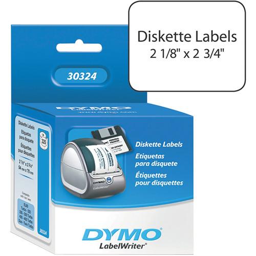 dymo labelwriter white 3 5 diskette labels 30324 b h photo