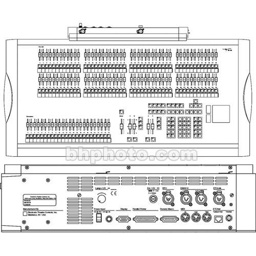 etc express 48 96 control console 110 240v 4110a1004 b h photo rh bhphotovideo com Insight 2 Etc Lighting Console Insight 2 Etc Lighting Console