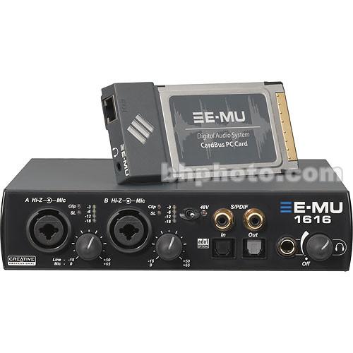 Digital Audio Video Photography: E-MU 1616M Digital Audio System 70EM897106002 B&H Photo Video
