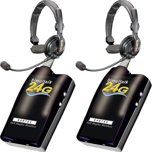 Eartec Simultalk 24g Full Duplex Wireless Intercom