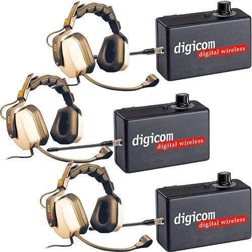 Eartec Digicom Digital Wireless Intercom With Max Dual