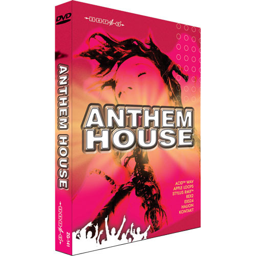 Zero g sample dvd anthem house zg141 b h photo video for Acid house anthems