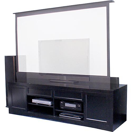 Elite screens cfe84h b raptor motorized floor rising cfe84h b for Motorized floor up screen