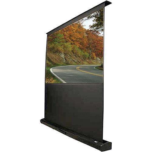 Elite screens fte92h kestrel tensioned floor rising fte92h b h for Motorized floor up screen