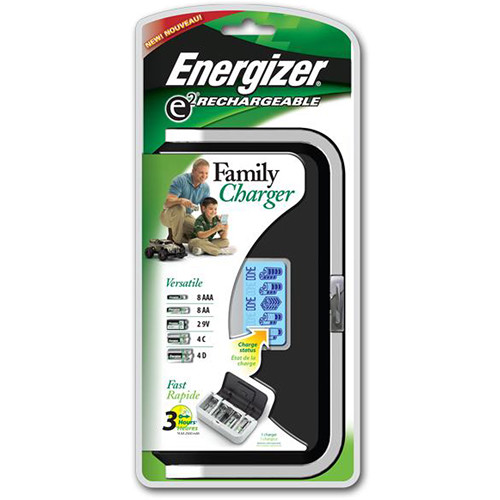 Energizer Family Charger Nimh Universal Battery Charger