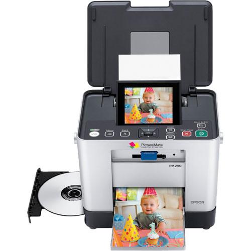 Epson Pm 290 Picturemate Zoom Compact Photo Printer C11c695201