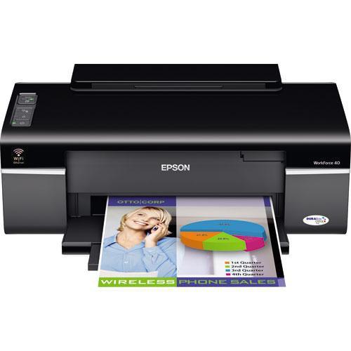 epson workforce 40 color inkjet printer c11ca27201 b h photo