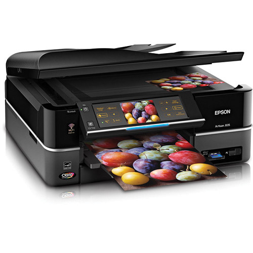 epson artisan 835 wireless all in one inkjet printer c11ca73201 rh bhphotovideo com Epson Printer R 2400 Manuals epson artisan 835 printer driver for windows 10