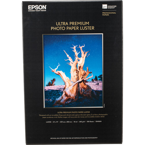 epson luster paper Papel epson fotográfico luster s041405, carta, 50 hojas - consumibles - papel especial,s041405.