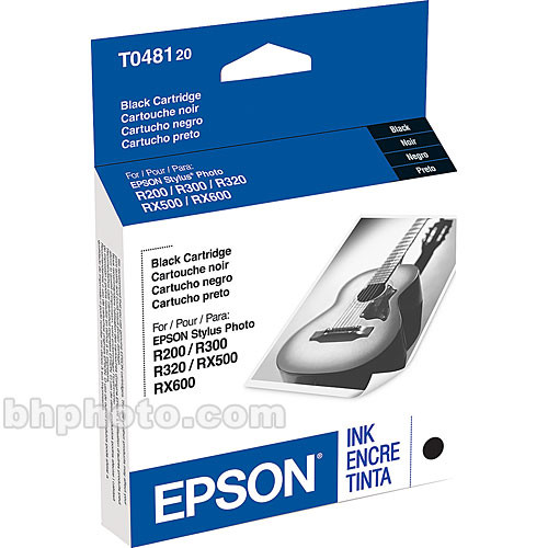 Epson Black Ink Cartridge T048120 Bh Photo Video