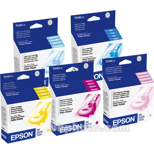 Epson T048920 Multi Pack Color Ink Cartridges T048920 Bh Photo