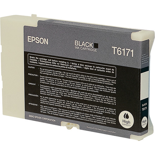 Epson High Yield Black Ink Cartridge For B 510DN Printer