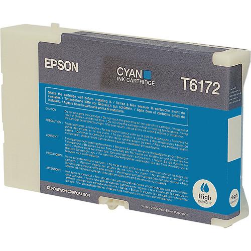 Epson High Yield Cyan Ink Cartridge For B 510DN Printer
