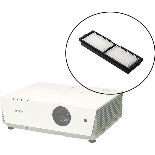 how to clean projector filter epson