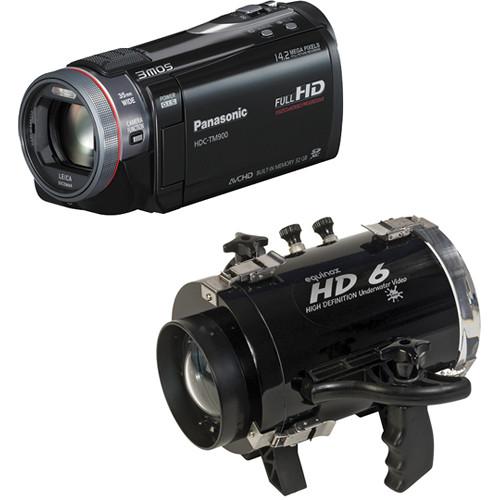 equinox hd6 underwater housing with panasonic hdc tm900 hd b h rh bhphotovideo com Panasonic HS900 Panasonic 900