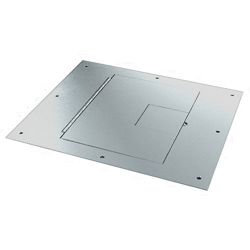 FSR FL 500P SS Cover With Hinged Door [No Flange] (Stainless