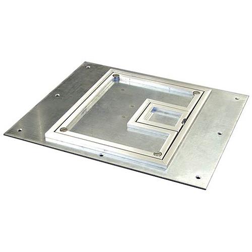 Fsr Fl 540p Ssq C 1 4 Quot Square Aluminum Flange Fl 540p Ssq C