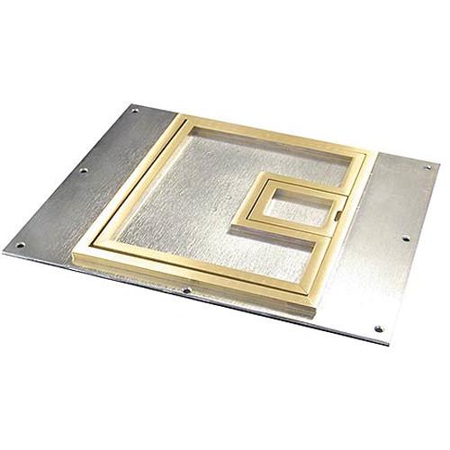 Fsr Fl 600p Bsq C 1 4 Quot Square Brass Flange Fl 600p Bsq C