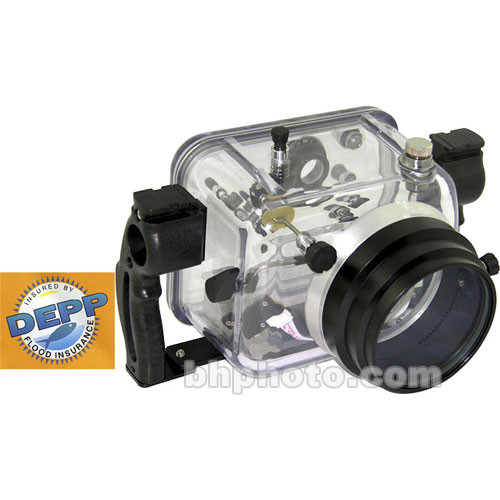 Fantasea Line Underwater Housing for Canon Rebel XT Digital Camera with  Standard Flat Port - Rated up to 200'