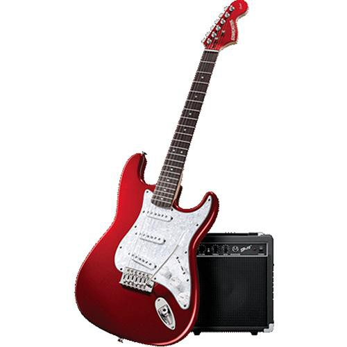fender starcaster complete electric guitar package stratcaster3. Black Bedroom Furniture Sets. Home Design Ideas