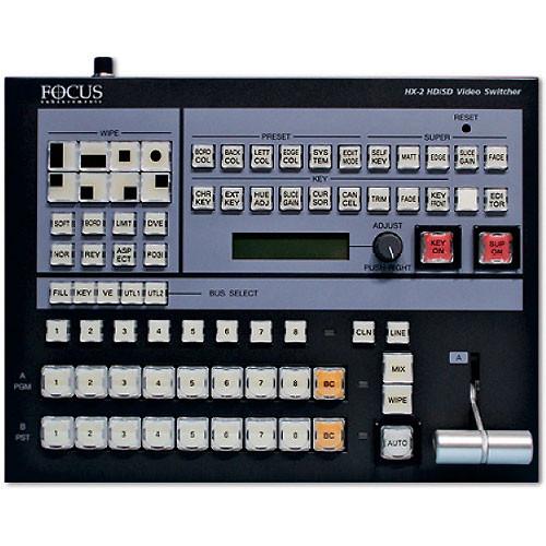 Focus Enhancements Hx 2 Sd Hd Video Switcher Asyf 1219 01 B H