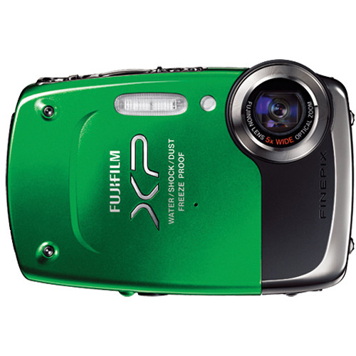 fujifilm finepix xp20 digital camera green 16124690 b h photo rh bhphotovideo com Fuji FinePix S6800 Digital Camera