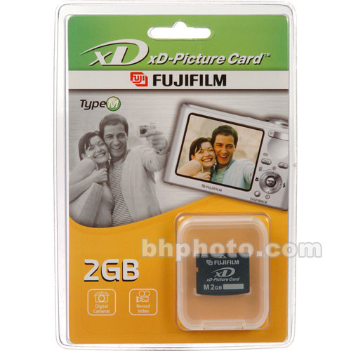 Fujifilm 2gb Xd Picture Card M Type 600005651 Bh Photo Video