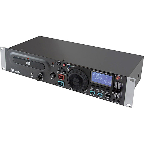 gemini cdx 1250 rackmount cd player cdx 1250 b h photo video. Black Bedroom Furniture Sets. Home Design Ideas