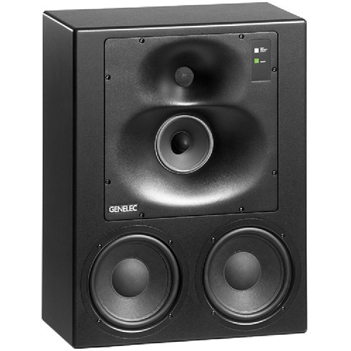 genelec 1038cf 420w 3 way active studio monitor 1038cf b h photo. Black Bedroom Furniture Sets. Home Design Ideas