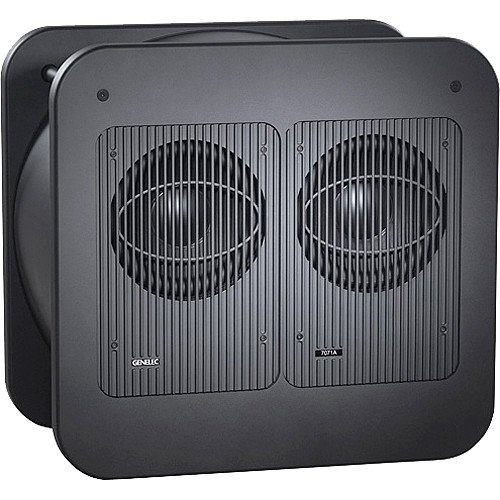 genelec 7071a dual 12 long throw active subwoofer 7071a rh bhphotovideo com