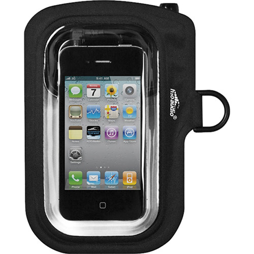 H2O Audio Amphibx Go Waterproof Case for iPhone, Droid WC1-BK